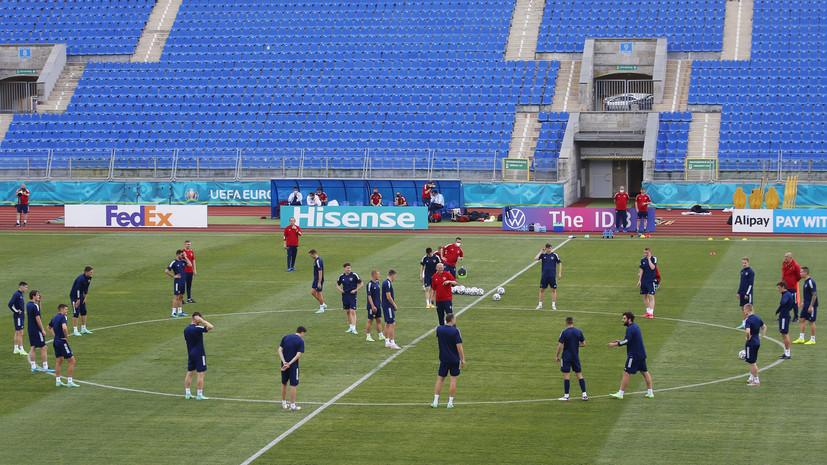 Слуцкий признался, что у него есть три вопроса по составу сборной России на матч с Бельгией