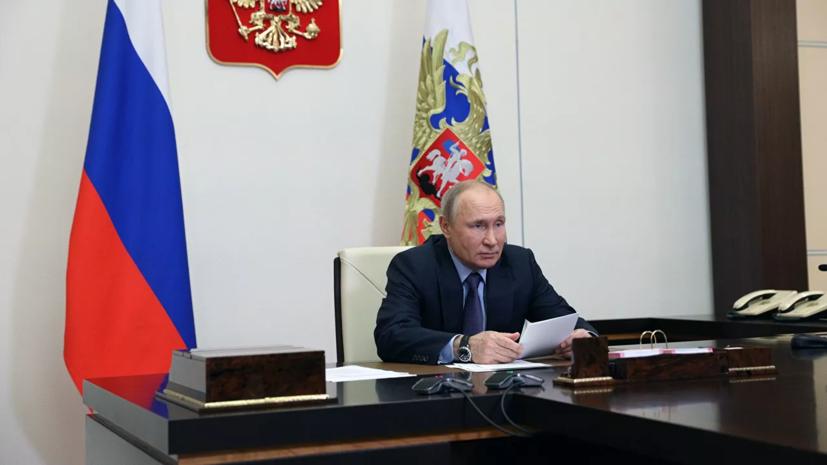 Путин предложил Совбезу обсудить безопасность на выборах в сентябре