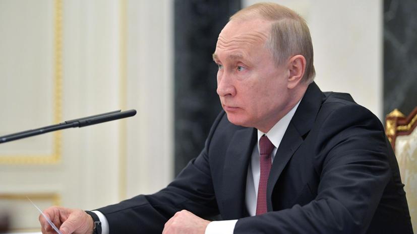 Телеканал NBC покажет интервью с Путиным 14 июня