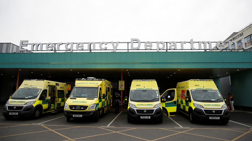 За сутки в Британии зафиксировали 8125 случаев коронавируса