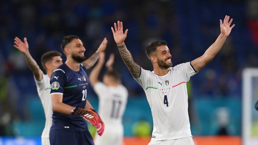 Спинаццола признан лучшим игроком матча Евро-2020 Турция — Италия