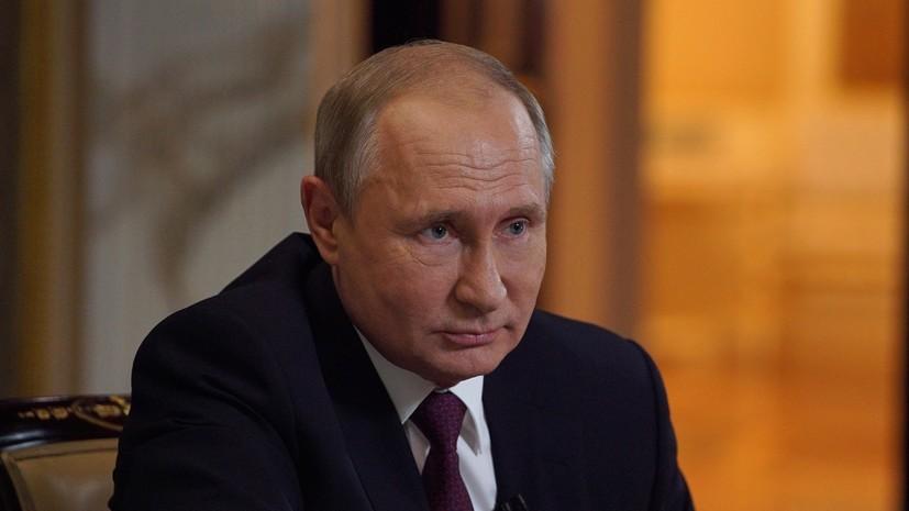 Путин назвал чепухой сообщения о готовности России продать Ирану спутниковые системы