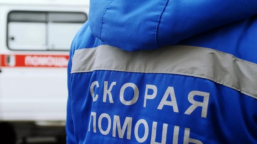 Семь человек пострадали при опрокидывании автобуса в Белгородской области
