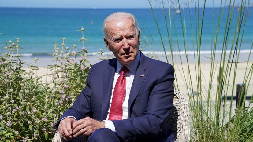 Байден заявил об уверенности США в сплочённости НАТО
