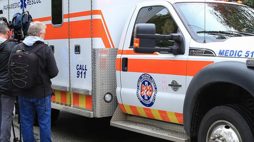В Пенсильвании три человека погибли при въезде машины в донорский центр