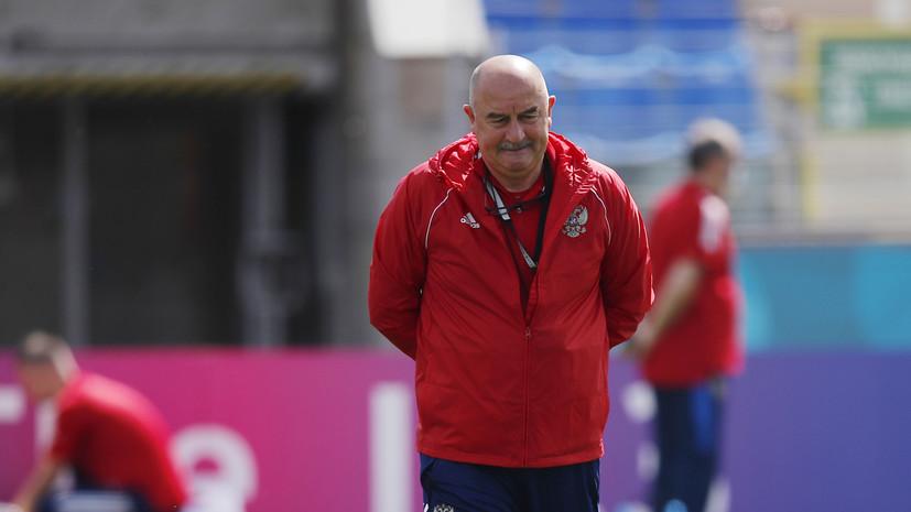 Черчесов высказался о поражении от Бельгии в матче Евро-2020