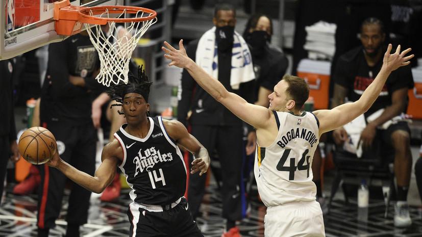 «Клипперс» разгромил «Юту» и сократил отставание в серии плей-офф НБА