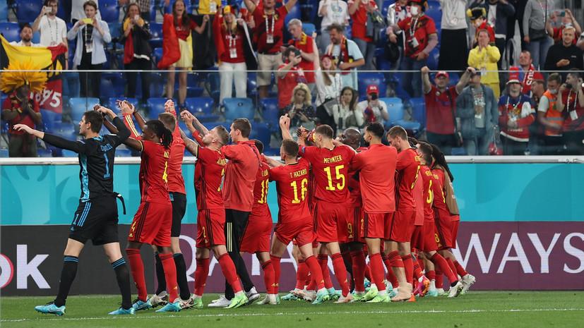 Футболист сборной России Мухин высказался после поражения об уровне Бельгии