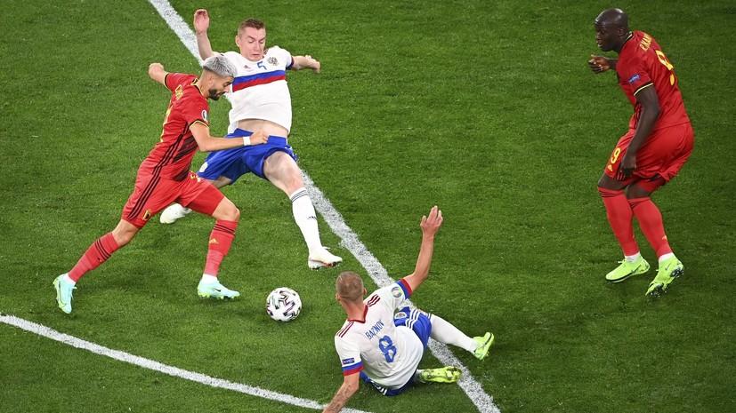 Жена Семёнова жёстко отреагировала на критику в адрес мужа после матча с Бельгией