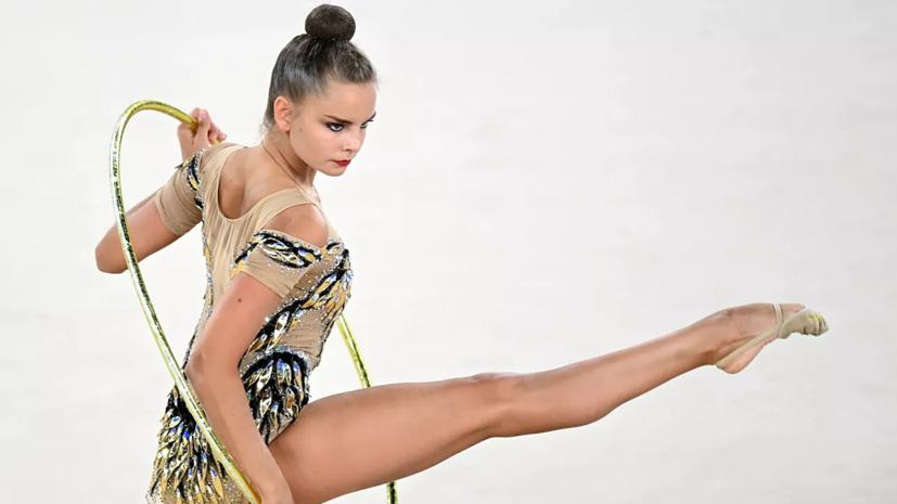 Дина Аверина завоевала две золотые медали на ЧЕ по художественной гимнастике