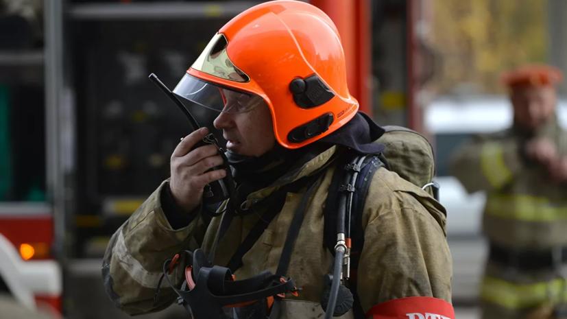 В Чувашии произошёл пожар в цехе на территории предприятия «Химпром»