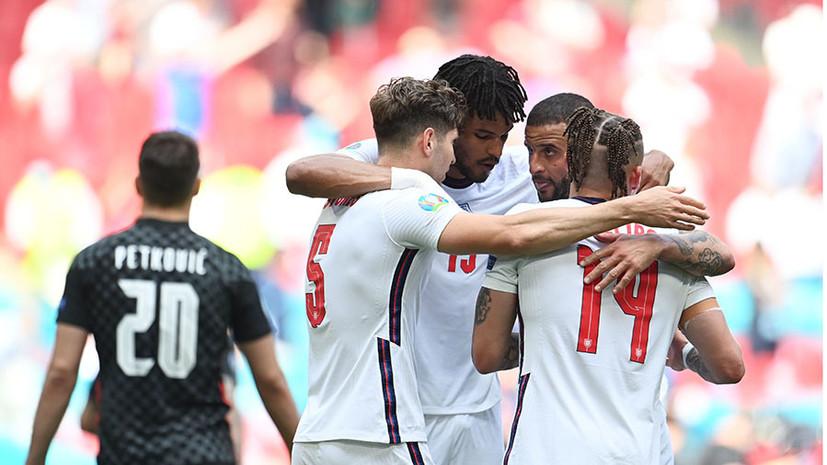 С минимальным преимуществом: гол Стерлинга помог Англии обыграть Хорватию в стартовом матче на Евро-2020