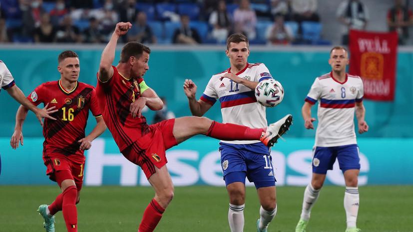 Зобнин проанализировал пропущенные мячи сборной России в матче с Бельгией