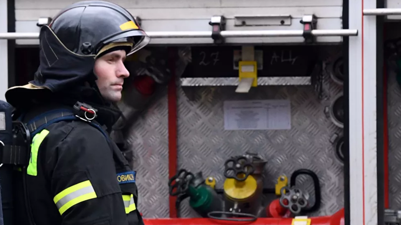 В Москве произошёл пожар в административном здании