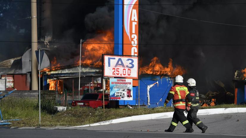 Шестеро пострадавших при пожаре в Новосибирске находятся в реанимации