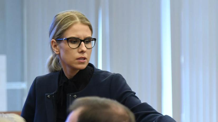 Соболь заявила, что остановила свою выборную кампанию в Госдуму