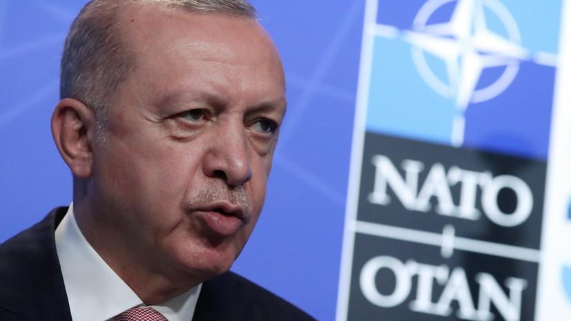 Эрдоган заявил о возрастании роли НАТО для мировой безопасности