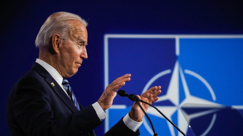 Байден заявил о готовности США ответить на «вредоносные» действия России