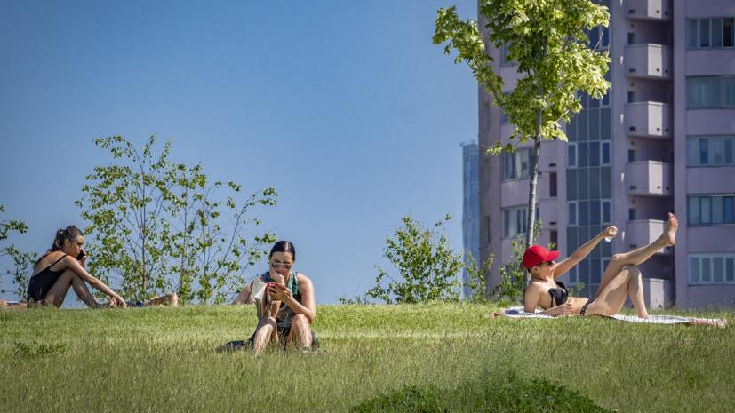 На выходных в Центральной России ожидается аномальная жара