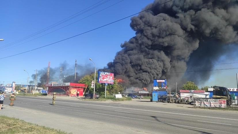 Число пострадавших при пожаре на АЗС в Новосибирске возросло до 35
