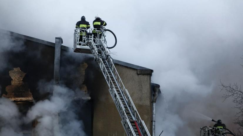 Пожар на фабрике с углём в Кузбассе ликвидирован