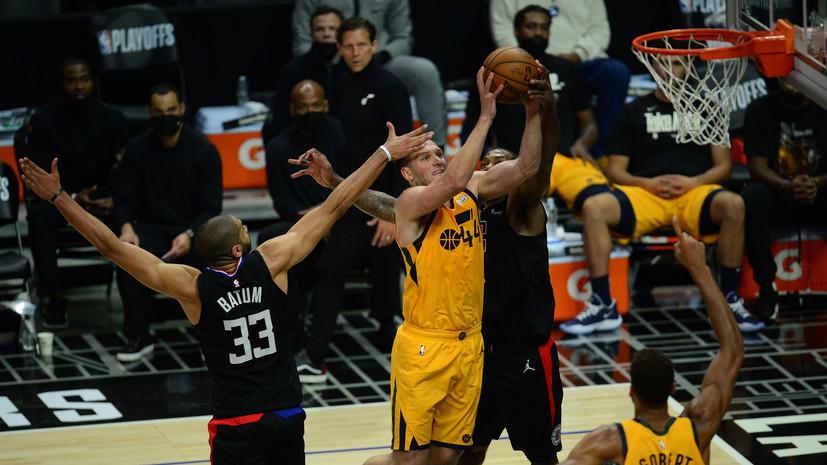 «Клипперс» победил «Юту» и сравнял счёт в серии плей-офф НБА