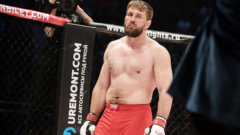 Минаков оценил шансы Волкова на завоевание титула чемпиона UFC