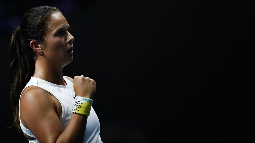 Касаткина вышла во второй круг турнира WTA в Бирмингеме