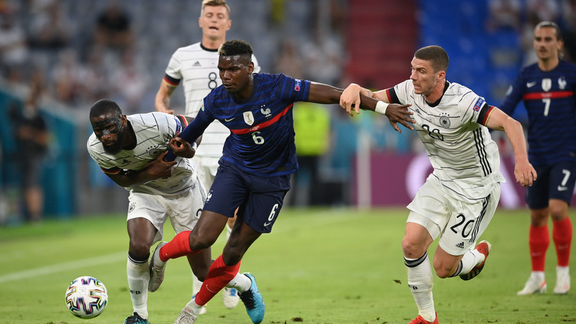 Погба признан лучшимфутболистом матча Франция — Германия
