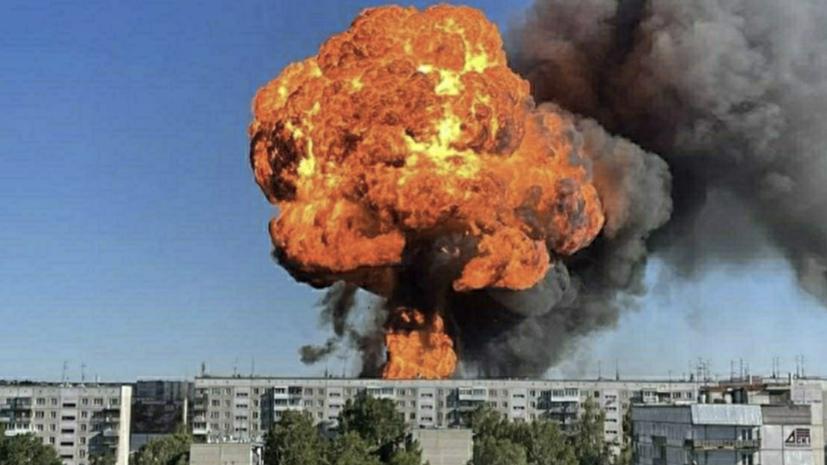 Директора АЗС в Новосибирске арестовали после крупного пожара