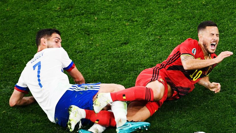 Писарев назвал ошибкой игру сборной России в два центральных защитника с Бельгией
