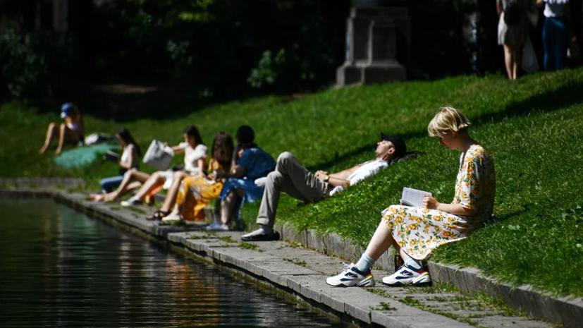 Синоптики прогнозируют в Москве жару до +32 °С