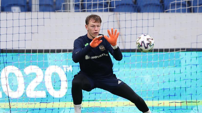 Нигматуллин назвал ожидаемой замену Шунина на Сафонова перед матчем с Финляндией