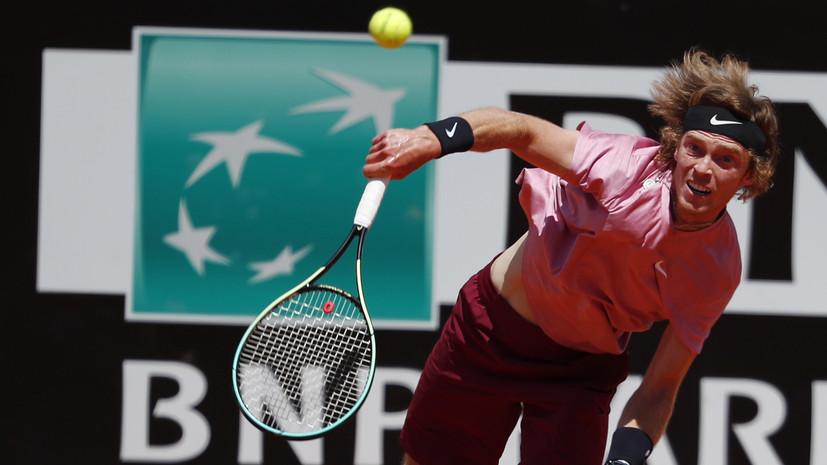 Рублёв победил Томпсона и вышел в четвертьфинал турнира ATP в Галле