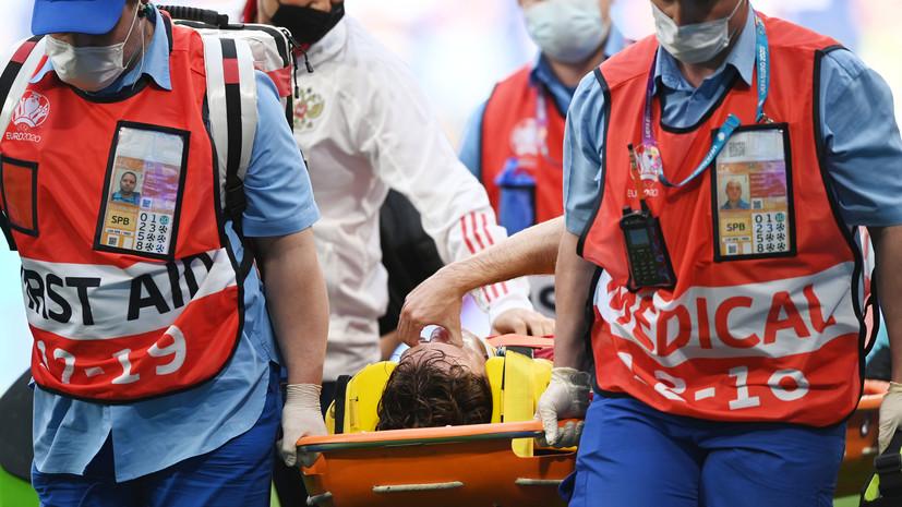 Марио Фернандес доставлен в одну из больниц Петербурга