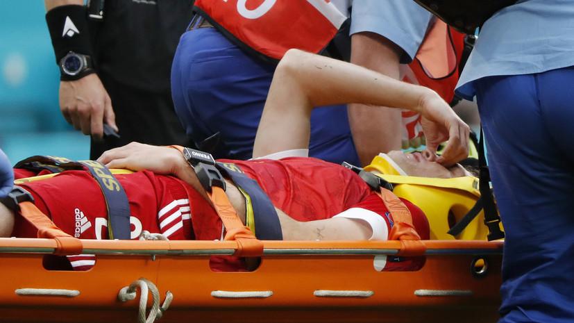 Экс-врач «Локомотива» — о травме Фернандеса: шанс серьёзного перелома невысок, но он есть