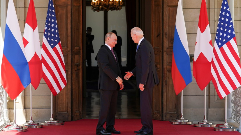 Путин заявил, что на переговорах с Байденом вопрос Украины затрагивался