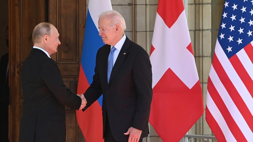 Путин заявил, что его устроили объяснения Байдена по словам в его адрес