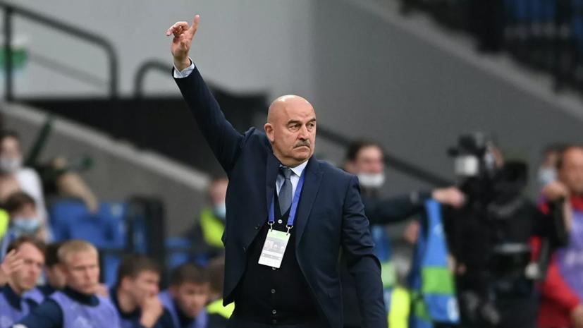 Черчесов высказался о переходе на схему в три центральных защитника