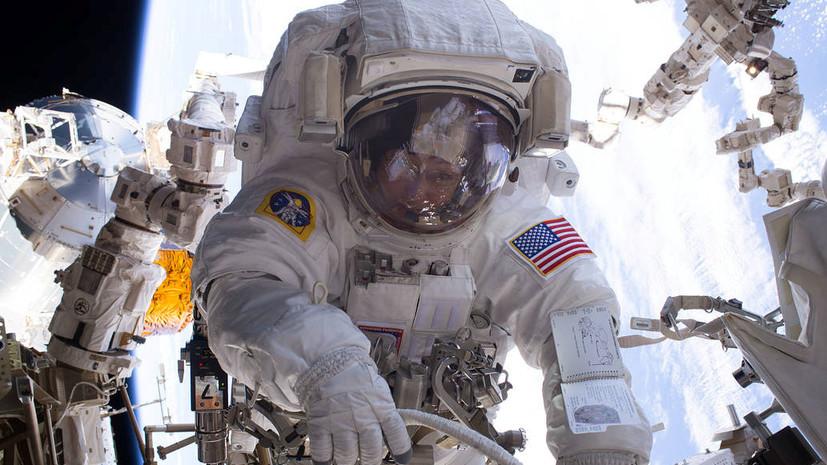 Астронавты вернулись на МКС после семичасовых работ в космосе