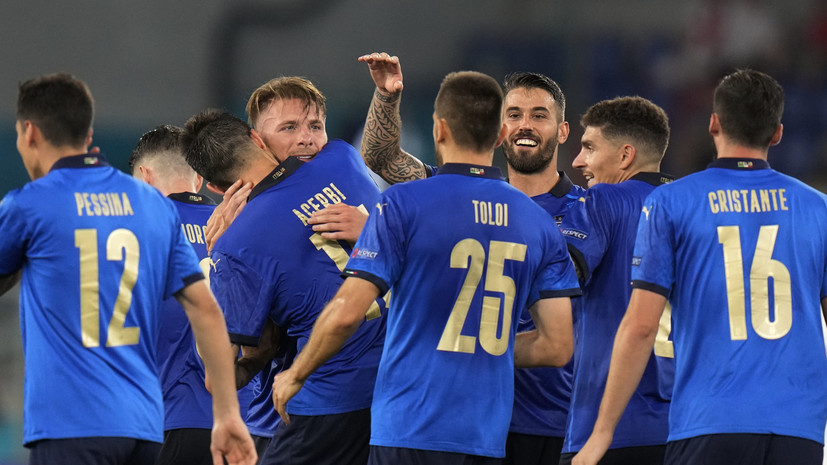 Италия разгромила Швейцарию и первой вышла в плей-офф Евро-2020