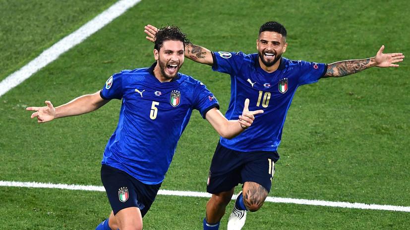 Сборная Италии по футболу выиграла 10 матчей подряд с общим счётом 31:0