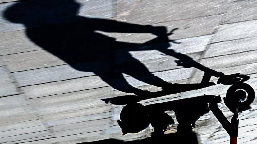 В МВД заявили о почти трёхкратном росте числа ДТП с электросамокатами