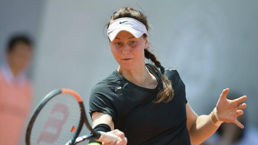 Самсонова обыграла Кудерметову и стала четвертьфиналистом турнира WTA в Берлине