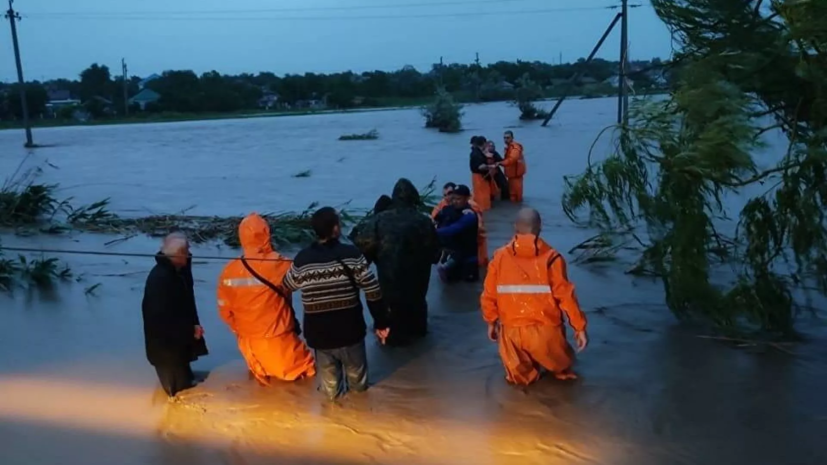 В Крыму рассказали об эвакуации из зон подтопления