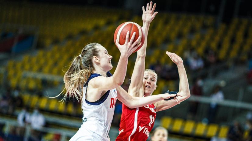 Сборная России обыграла Чехию в стартовом туре женского Евробаскета
