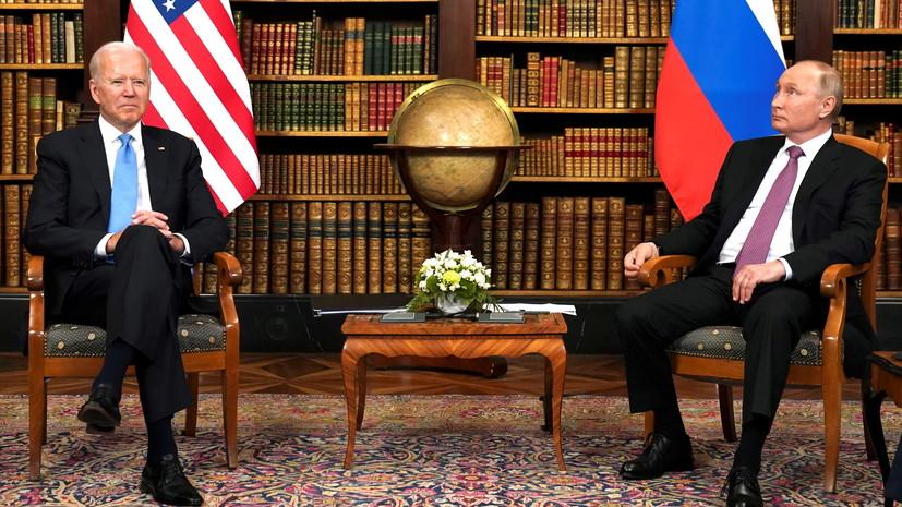 Путин выразил надежду, что Байдену «дадут спокойно работать»