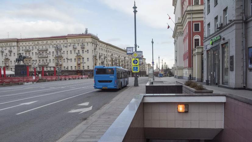 На участке Тверской и 1-й Тверской-Ямской улиц в выходные заменят асфальт