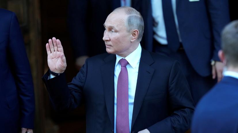 Путин высказался о работе Псаки