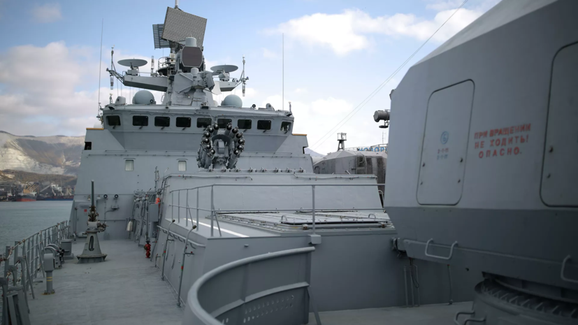 Фрегат «Адмирал Макаров» Черноморского флота провёл комплексное учение в Средиземном море